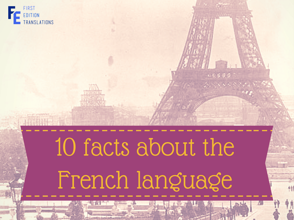 10 facts about the French language