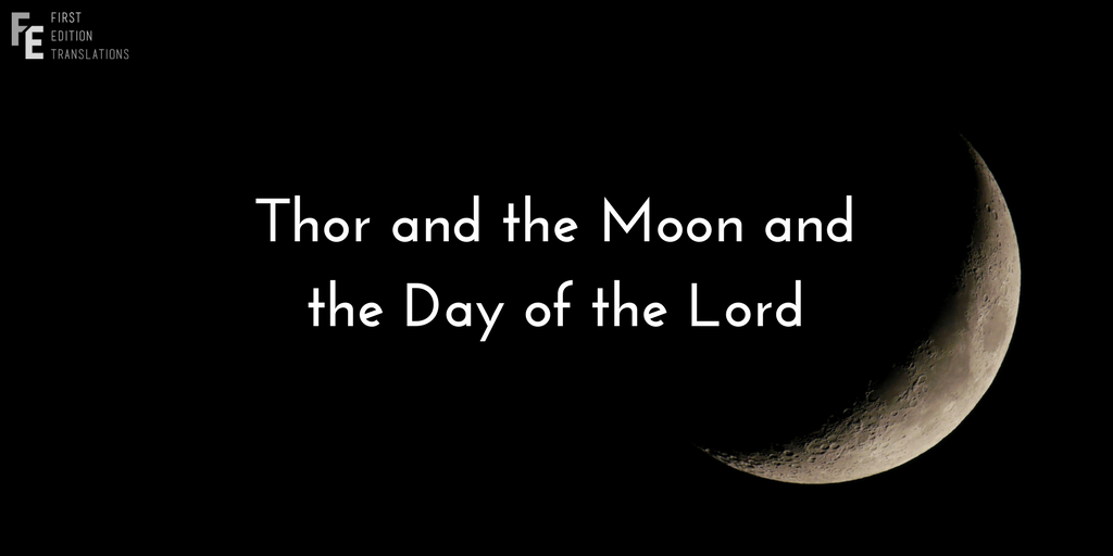 Thor and the Moon
