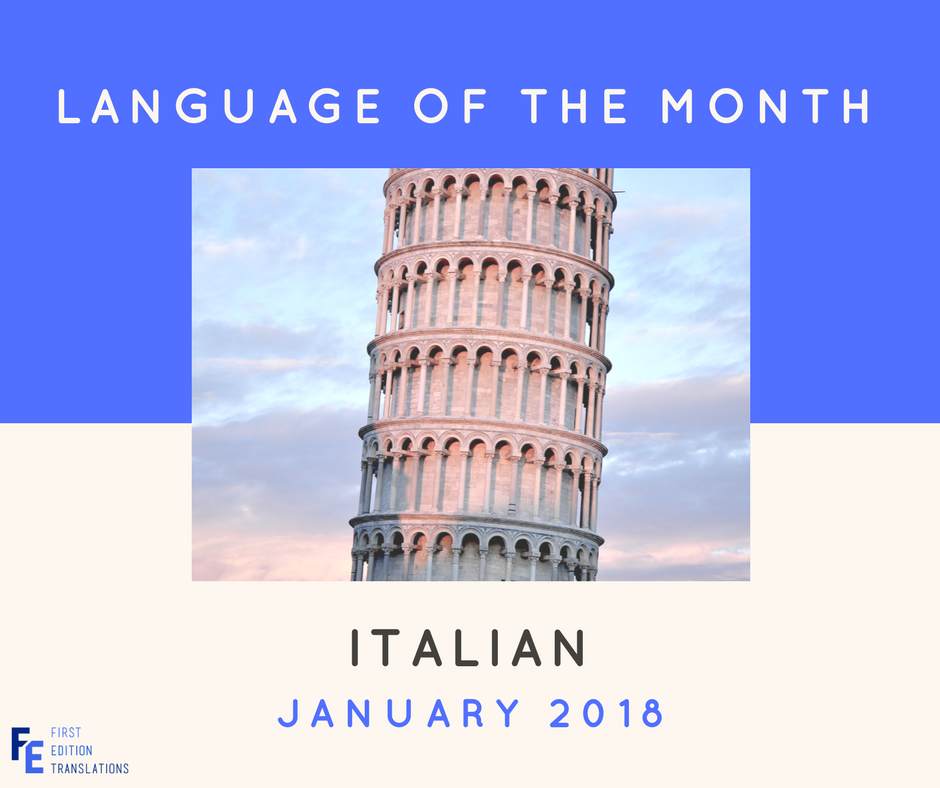 Language of the Month - January