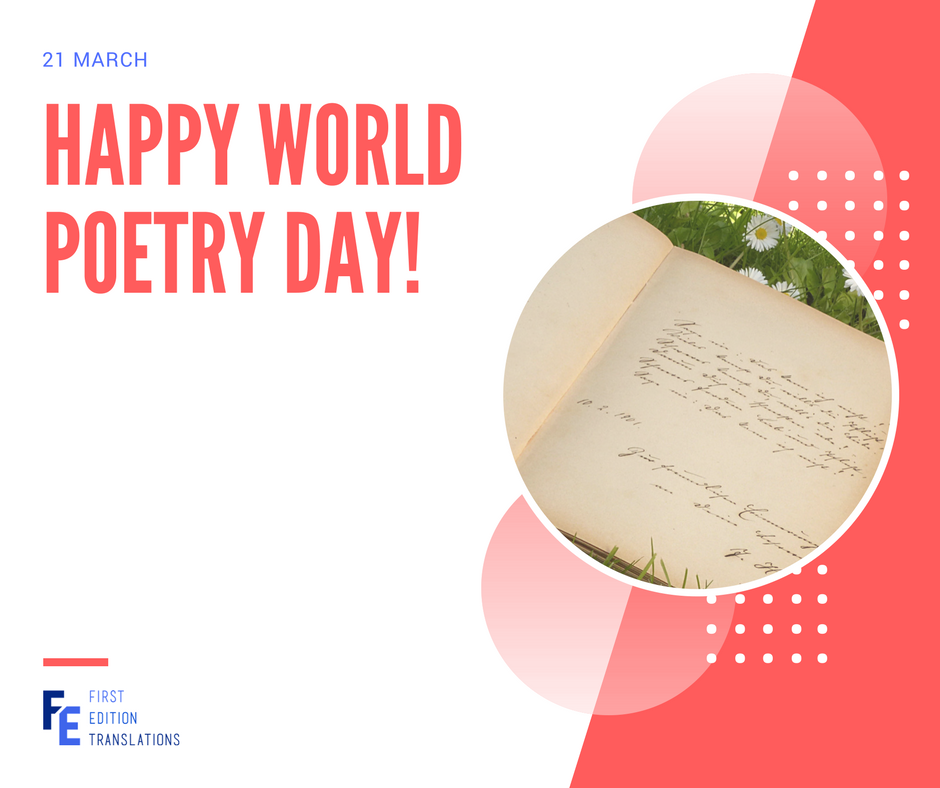 Happy World Poetry Day!
