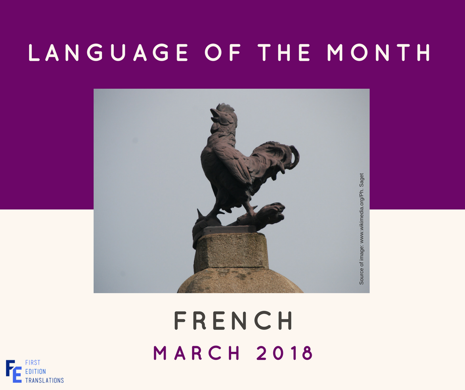 Language of the Month - March, French