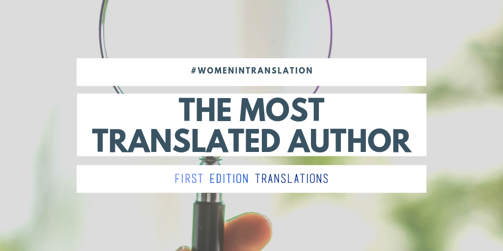 Most translated author